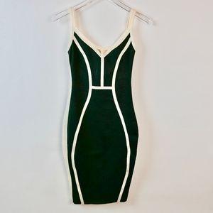 WOW COUTURE Stretch Knit Body Con Mini Dress